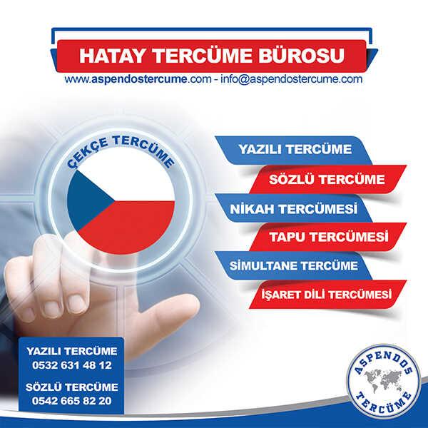 Hatay Çekçe Tercüme Hizmeti
