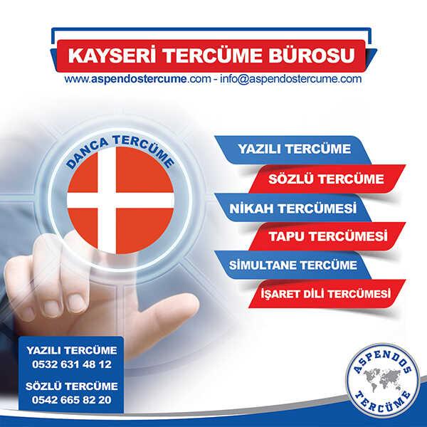 Kayseri Danca Tercüme Hizmeti