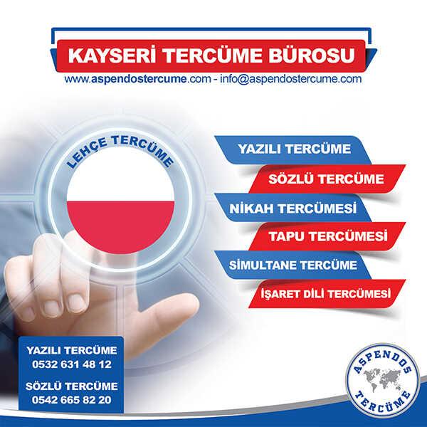 Kayseri Lehçe Tercüme Hizmeti