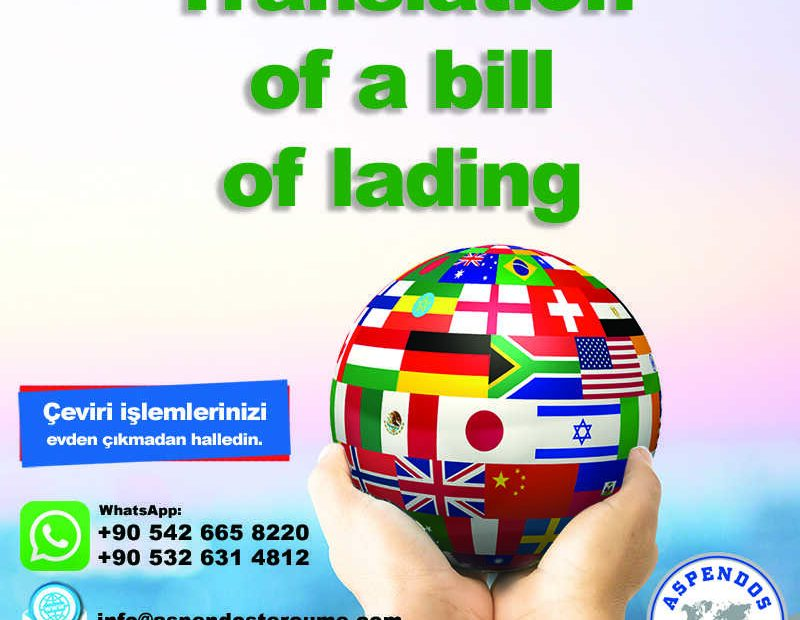 translation_of_a_bill_of_lading_