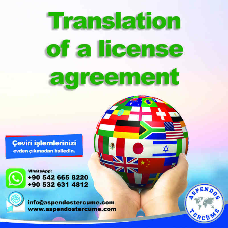 translation_of_a_license_agreement_