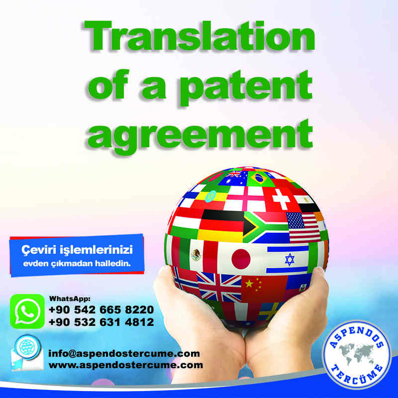 translation_of_a_patent_agreement_