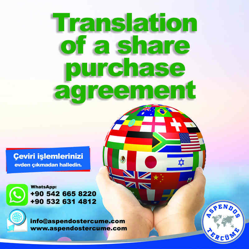 translation_of_a_share_purchase_agreement_
