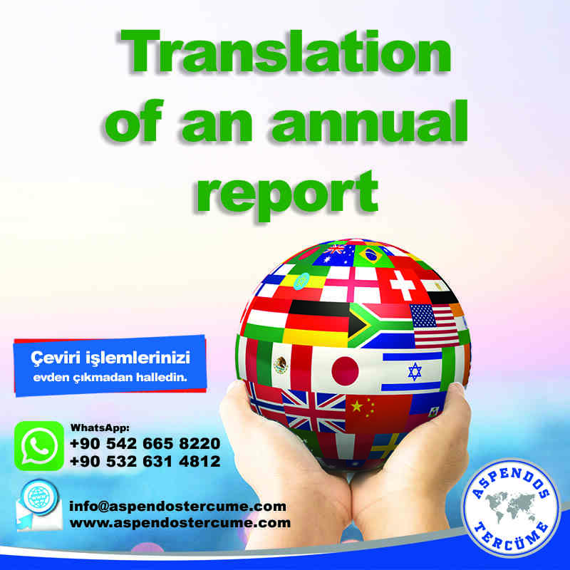 translation_of_an_annual_report_