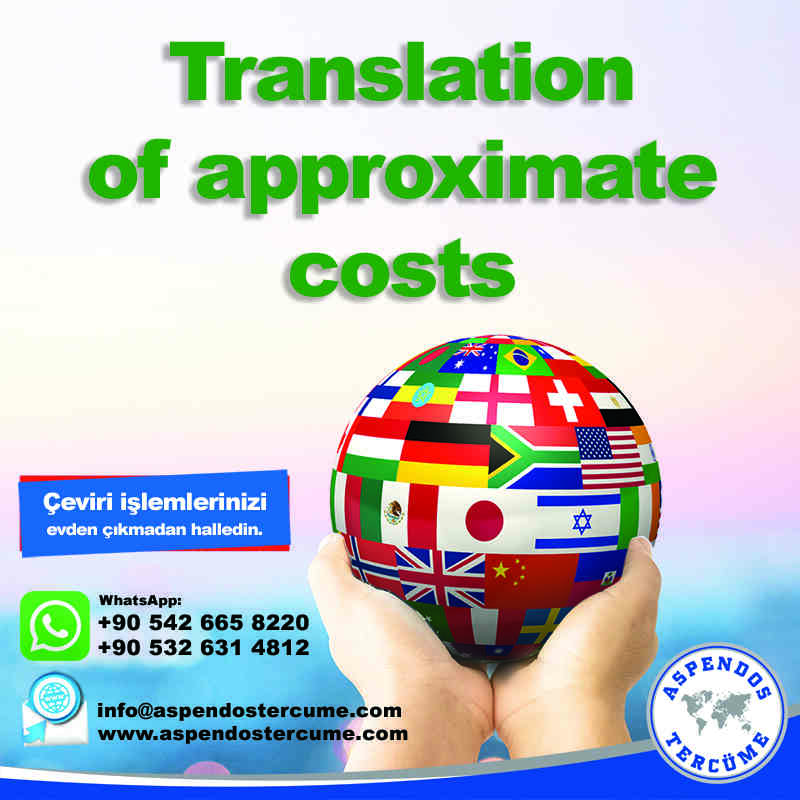 translation_of_approximate_costs_