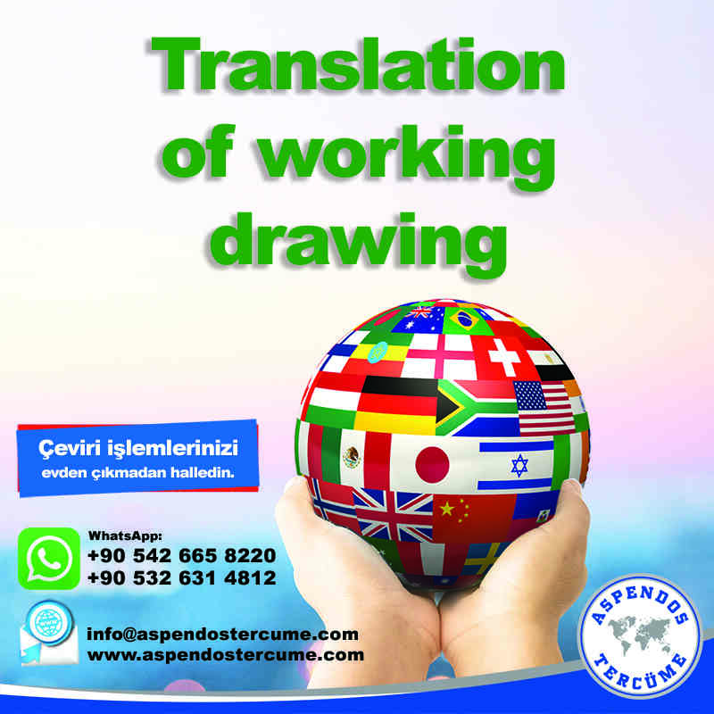 translation_of_working_drawing_